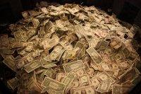 duża ilość pieniędzy